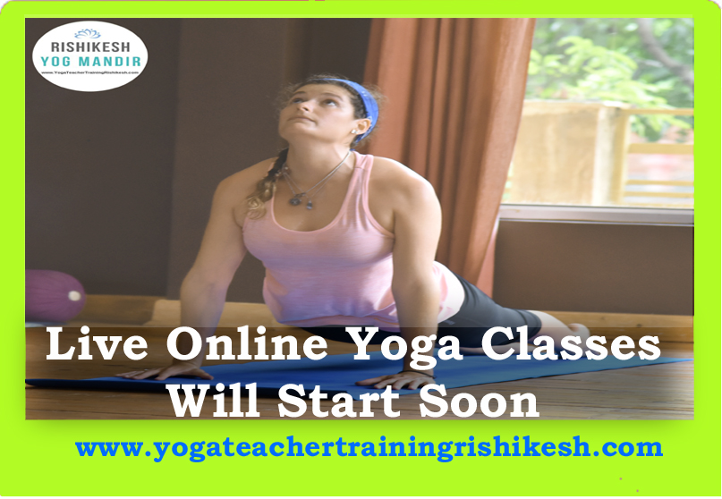 online yoga classes { Rishikesh Yog Mandir}