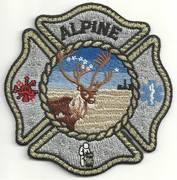 ALASKA FIRE PATCHES