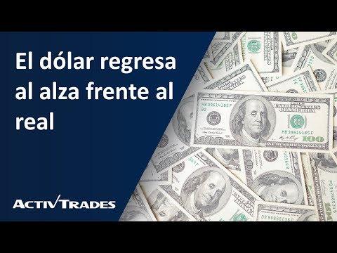 Video Análisis: El dólar regresa al alza frente al real