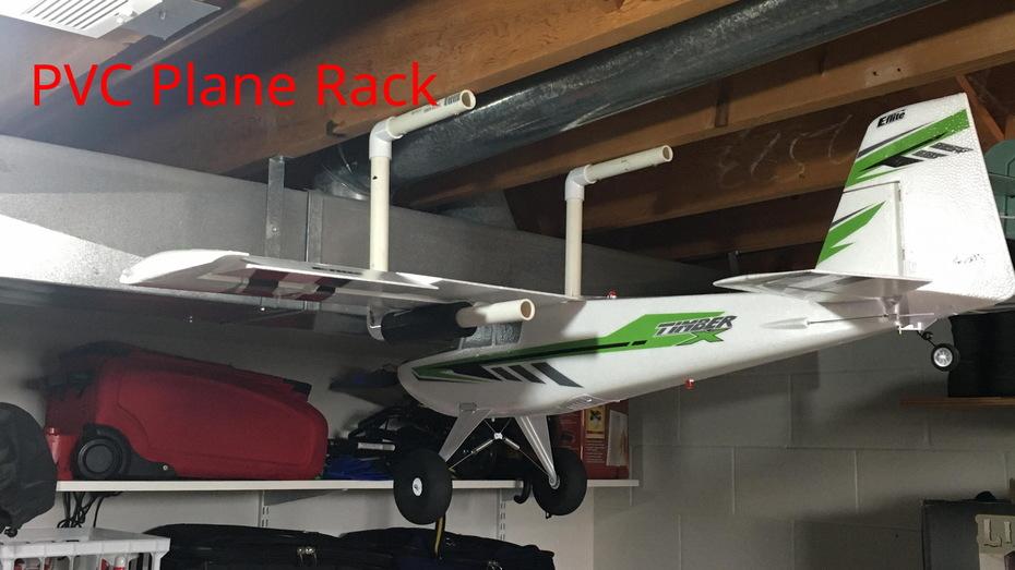 PVC Plane Rack