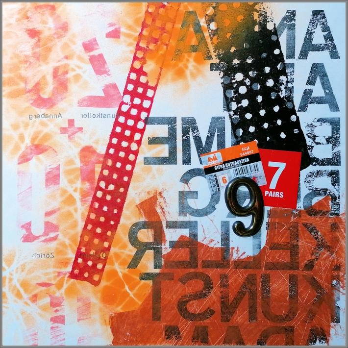Dadaist composition NO 697