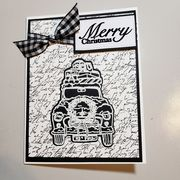 MMC122018 Black and White Holiday Card