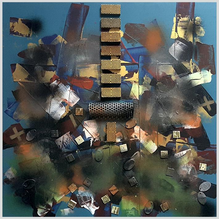 Dadaist Composition No XM