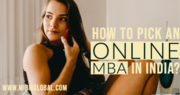 How to pick an Online MBA in India?