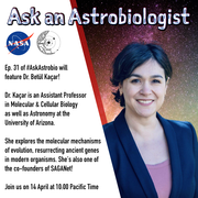 Ask an Astrobiologist with Dr. Betül Kaçar!