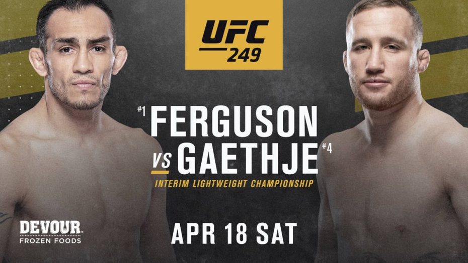 UFC 249 Live Tony vs Justin Stream Free