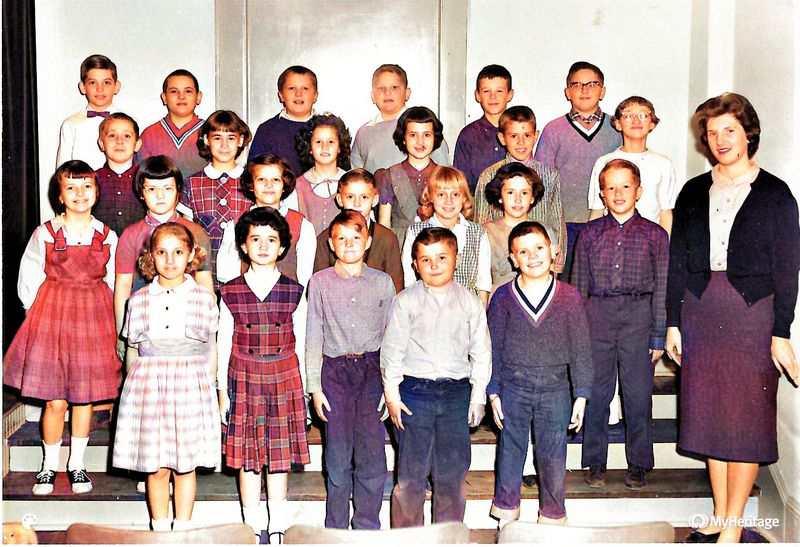 Shirley Rice 4th grade 1961