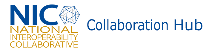 The NIC Collaboration Hub Logo