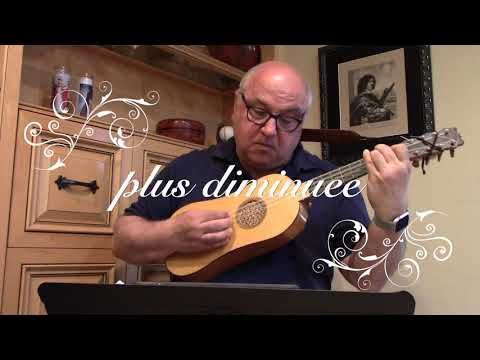 """Je Cherche Autant Amour"" by Boyvin Intabulated for Renaissance Guitar by Le Roy"