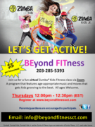 Virtual Zumba® Kids/Kids Jr. classes