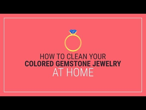 How to Clean Colored Gemstone Jewelry at Home