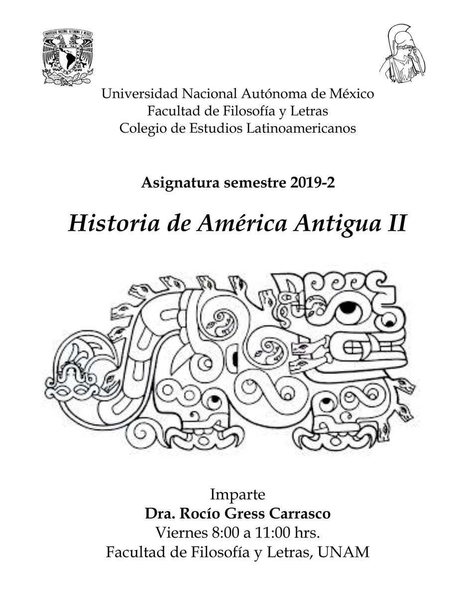 Historia de América Antigua II