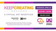 Keep Creating, Orlando - A Virtual Art Reception