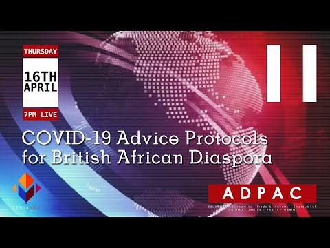 COVID-19 Advice Protocols For British African Diaspora