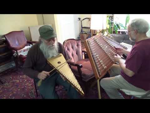 """BRANLE des CHEVAUX"" on Hammer Dulcimer & Bowed Psaltery"
