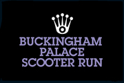 BUCKINGHAM PALACE SCOOTER RUN