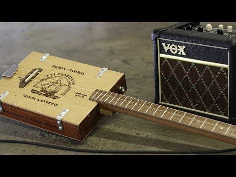 3-String Cigar Box Guitar Recording