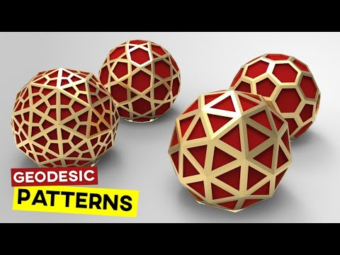 Geodesic Dome (Grasshopper Tutorial)