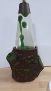 Deep Forrest Cookie Jar Conversion Lava Lamp