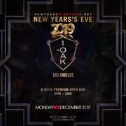 1 OAK LA NYE New Years 2019