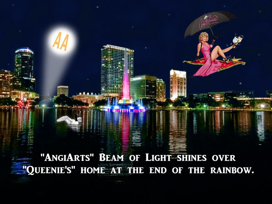AA nightscape w Queenie & AA