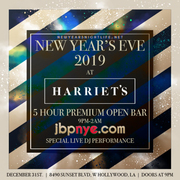 2019 Harriets Rooftop | Jeremy West Hollywood New Years