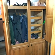 RV Wardrobe Closet - 04