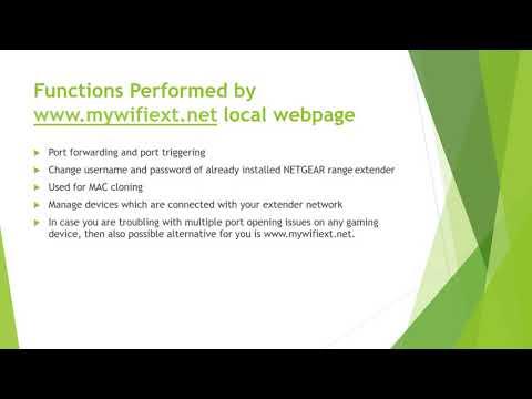 Netgear Mywifiext.net New Extender Setup By Mywifiext-net.us