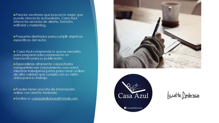 CASA AZUL EDICIONES