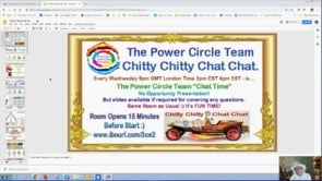 Power Circle Team Chitty Chitty Chat Chat Christmas Special Webinar Replay 19th Dec 2018