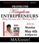 PRAYER Flyer for Kingdom Entreprenuers 5-4-20