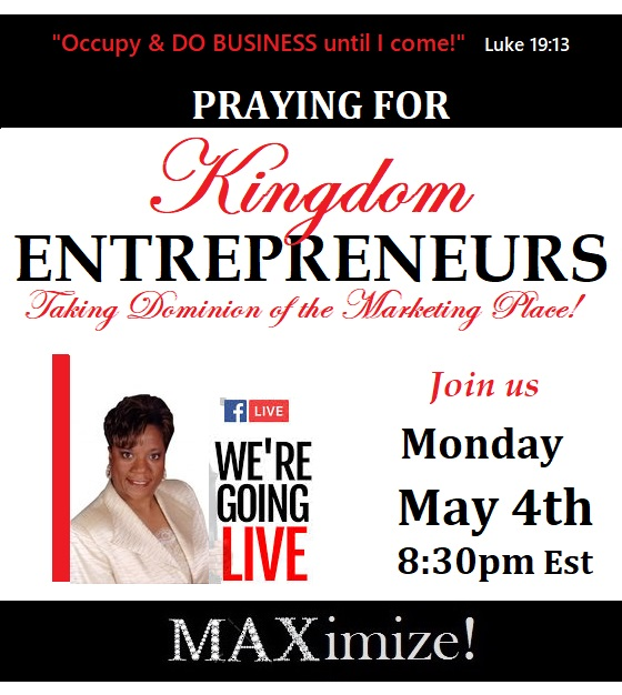 PRAYER Flyer for Kingdom Entreprenuers 5-4-20
