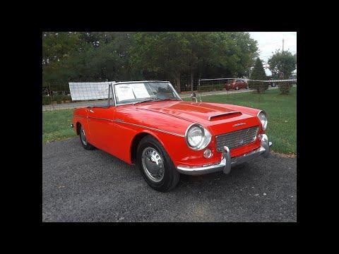 1964 Datsun Fairlady SPL310 At the 2019 Fall Carlisle Auction