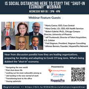 """Is Social Distancing here to stay? The """"Shut-in Economy"""" Webinar"""