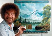 Bob Ross Tribute Art Show