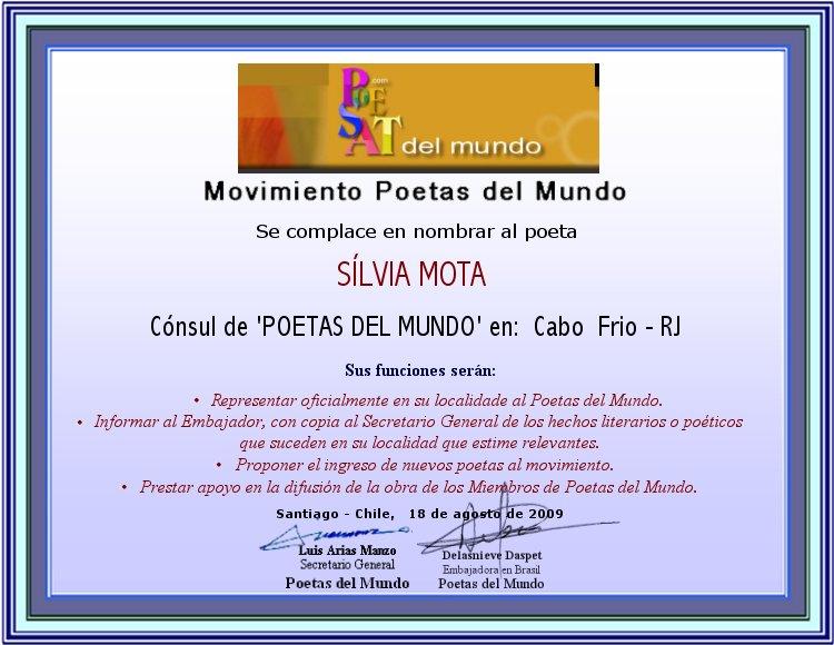 2009-Diploma_Cônsul_dos_Poetas_de_Mundo_em_Cabo_Frio