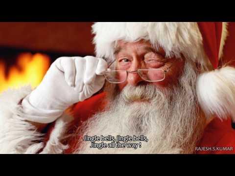 Jingle Bells - Jim Reeves Lyrics Video-FHD