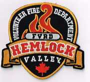 HEMLOCK VALLEY FIRE DEPARTMENT- HEMLOCK VALLEY, CANADA(LOWER MAINLAND REGION)