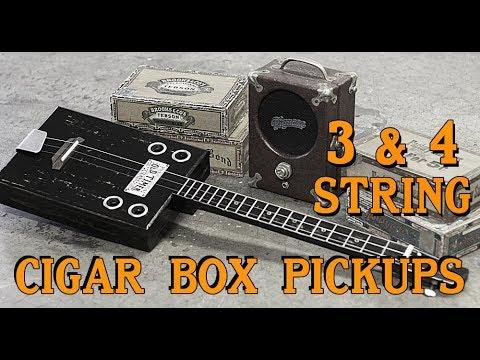 Cigar Box Guitar Pickups  For Sale - 3 & 4 string