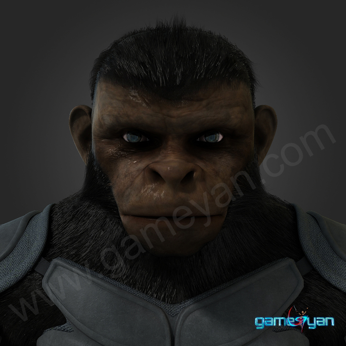 3d-ape-cinematic-Character