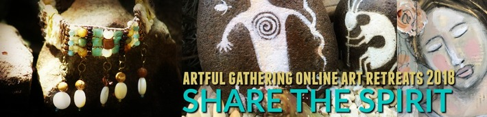 Artful Gathering Retreats Logo