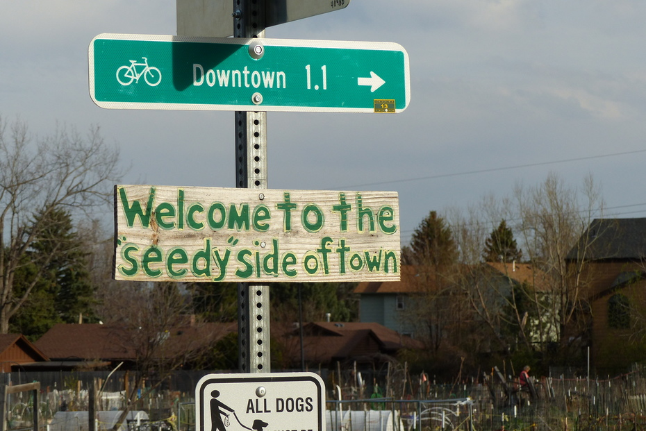 """""""Seedy"""" side of town"""