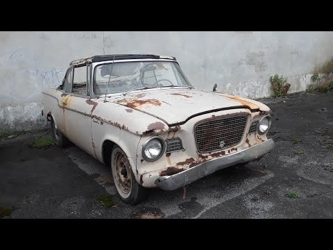 1960 Studebaker Lark VIII Convertible A Roadside Wonder