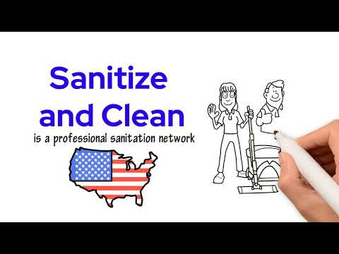 Sanitize And Clean Video