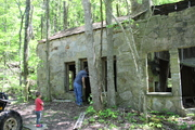 abandoned building on Alpine Mountain