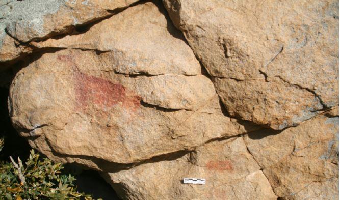 Dos ciervas de hace 7.000 años en el Parque Nacional de Ordesa (Huesca)