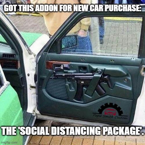 social distancing package