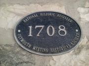 Plymouth Meeting marker