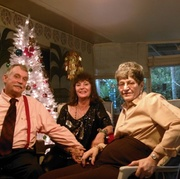 Christmas06-Me Judy, Norma- Judy's friend