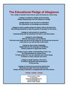 The Educational Pledge